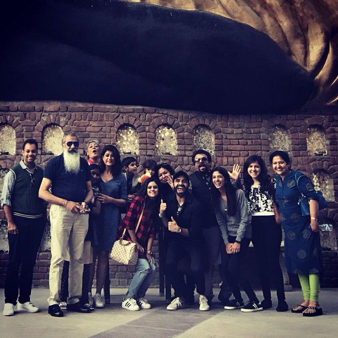 Family weekend in Delhi for the first time @AhujaAakriti @tahira_k #KingdomOfDreams #KOD #Amritsar #Tomorrow https://t.co/mAInTMPyCb