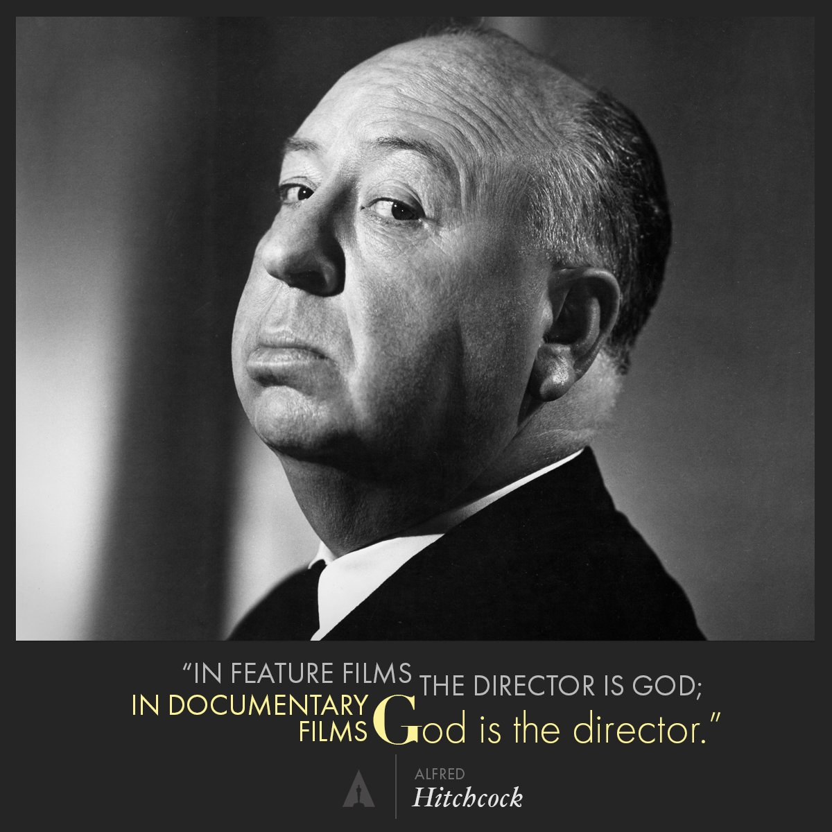 Alfred #Hitchcock on the role of a director. https://t.co/mqh3UdvIcD