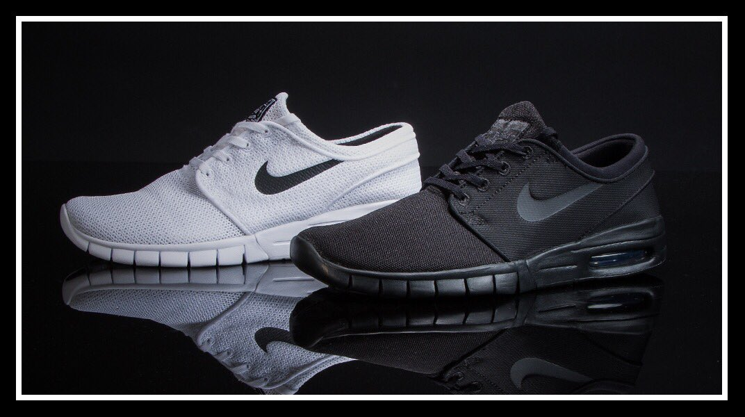 61dedee4a8173a always a clean optionnike janoski max now in black and white at champs  weknowgame