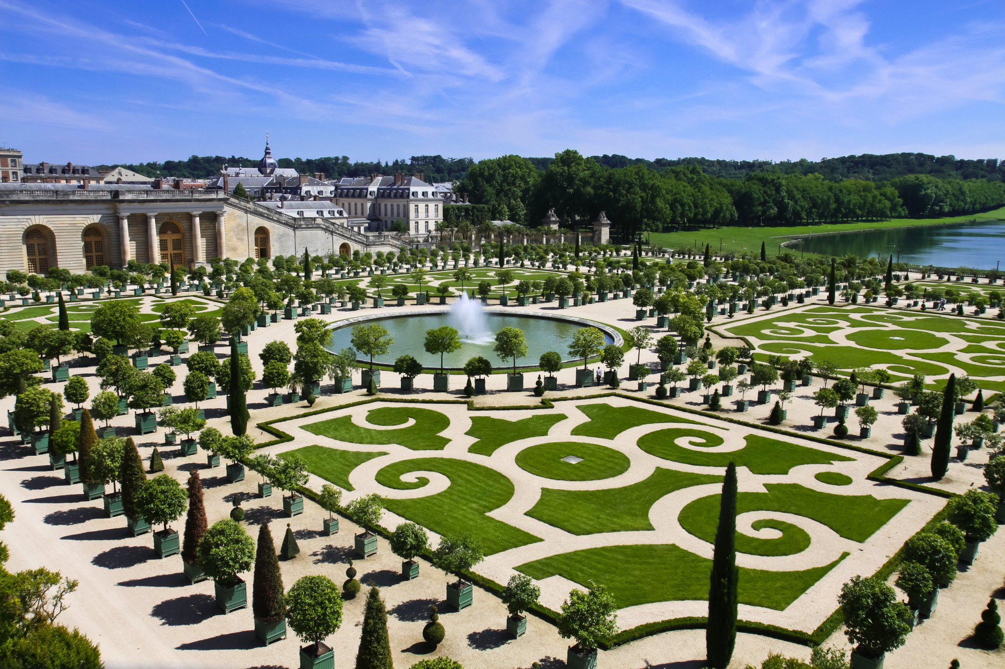 French embassy u s on twitter onthisday in 1613 andr le n tre was born he was the - Le jardin du chateau de versailles ...