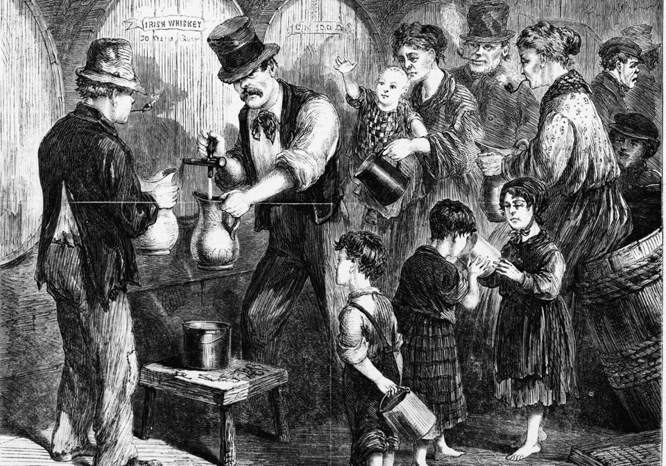 irish stereotypes in the 1800s The irish drink tea on a daily basis, it's what gets us out of bed in the morning it also has magical curing powers and is frequently used as a remedy for shock if you are irish and don't drink tea, it's probably best to keep that odd fact to yourself.