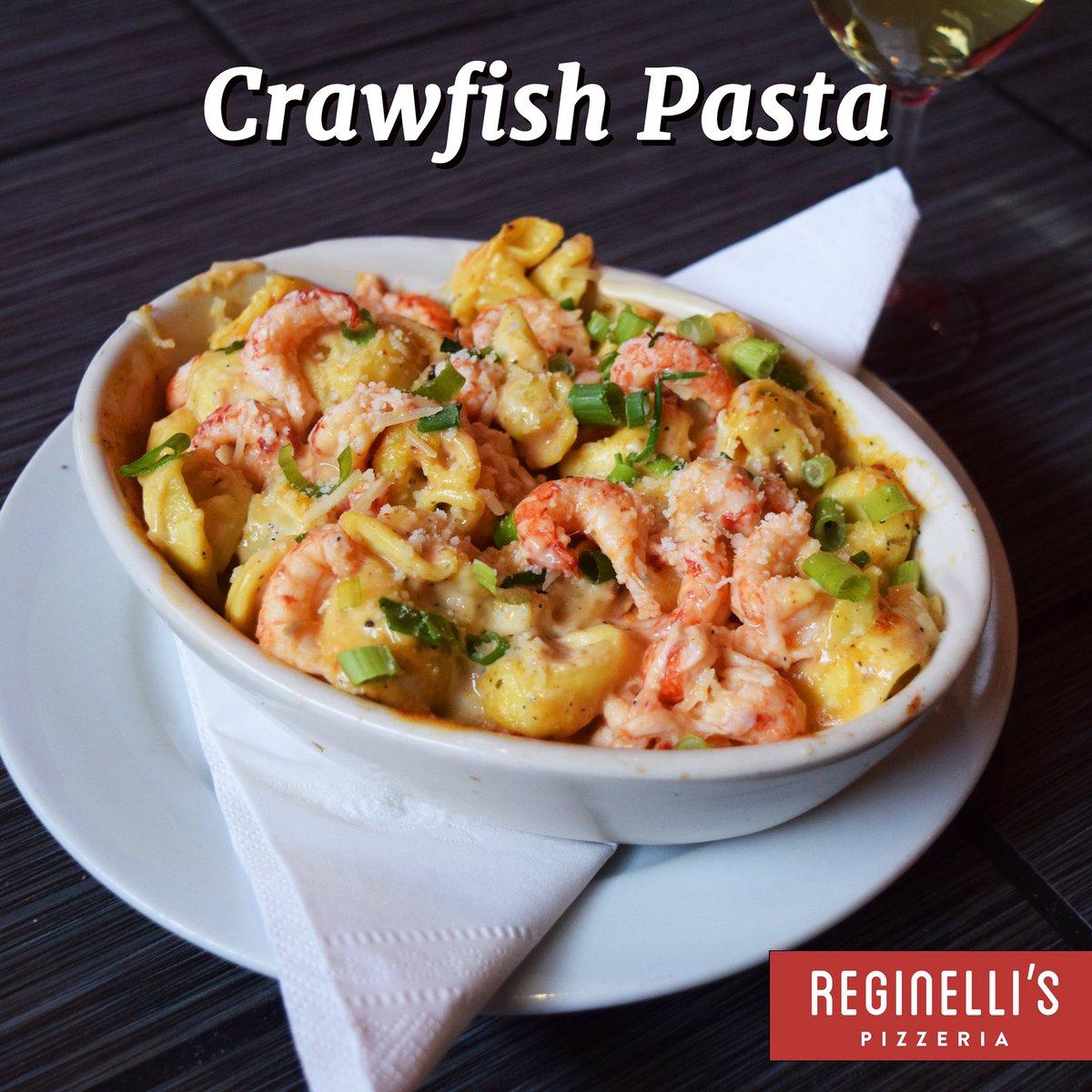 crawfish cream sauce pasta