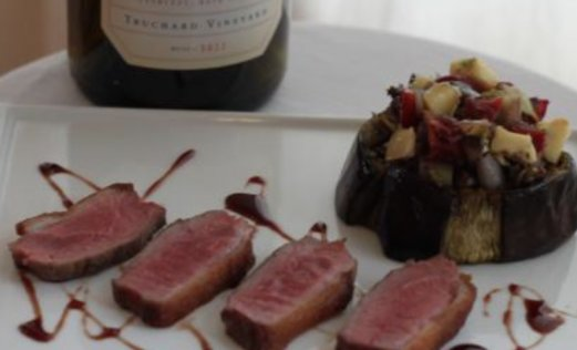 Pair This: Pinot Noir and Seared Long Island Duck with Roasted Eggplant