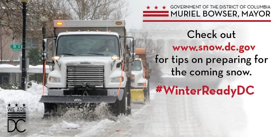 For more information on the District's response to the upcoming winter forecast, visit https://t.co/swWYy8HG1k https://t.co/V5Y4PAHBVx