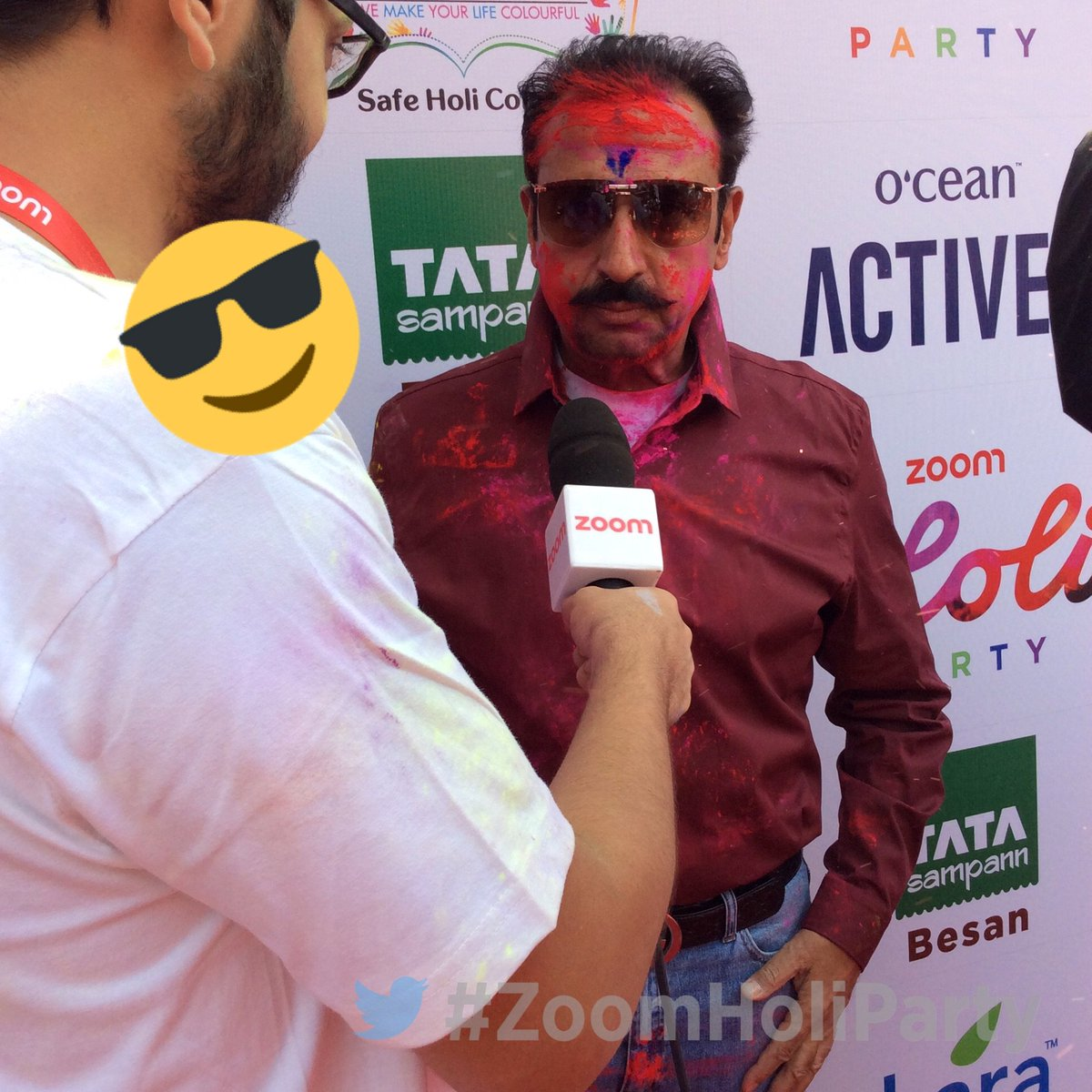 Zoom Holi Party with Celebs