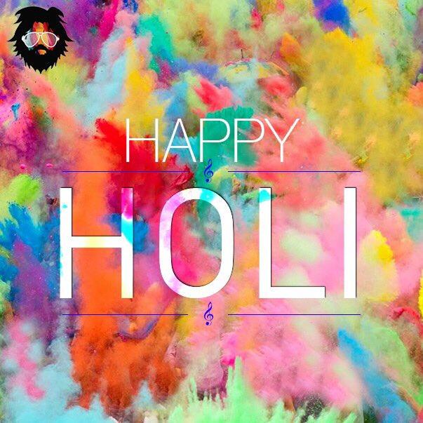 Happy Holi everyone! Play safe. https://t.co/rbemZD0ztB