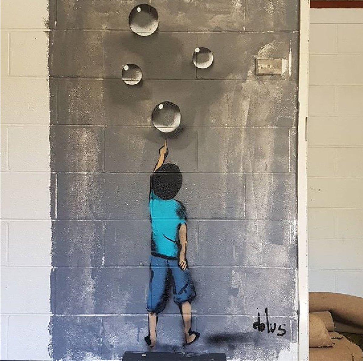 New Street Art by Dolus   #streetart #art #arte