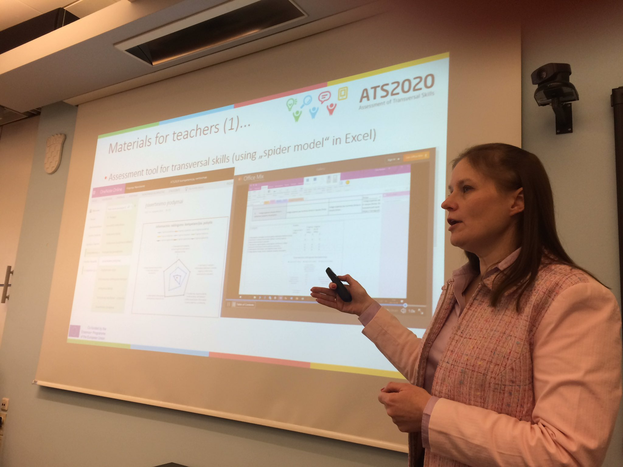 Asta from Lithuania 🇱🇹 giving an overview of the different implementation model in their #ats2020 pilot https://t.co/QFNnDTEy3T