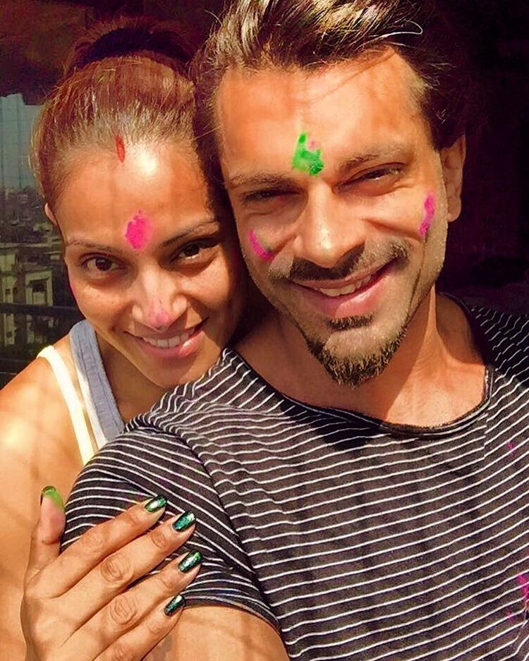 Bipasha Basu with husband Karan Singh Grover   IMAGES, GIF, ANIMATED GIF, WALLPAPER, STICKER FOR WHATSAPP & FACEBOOK