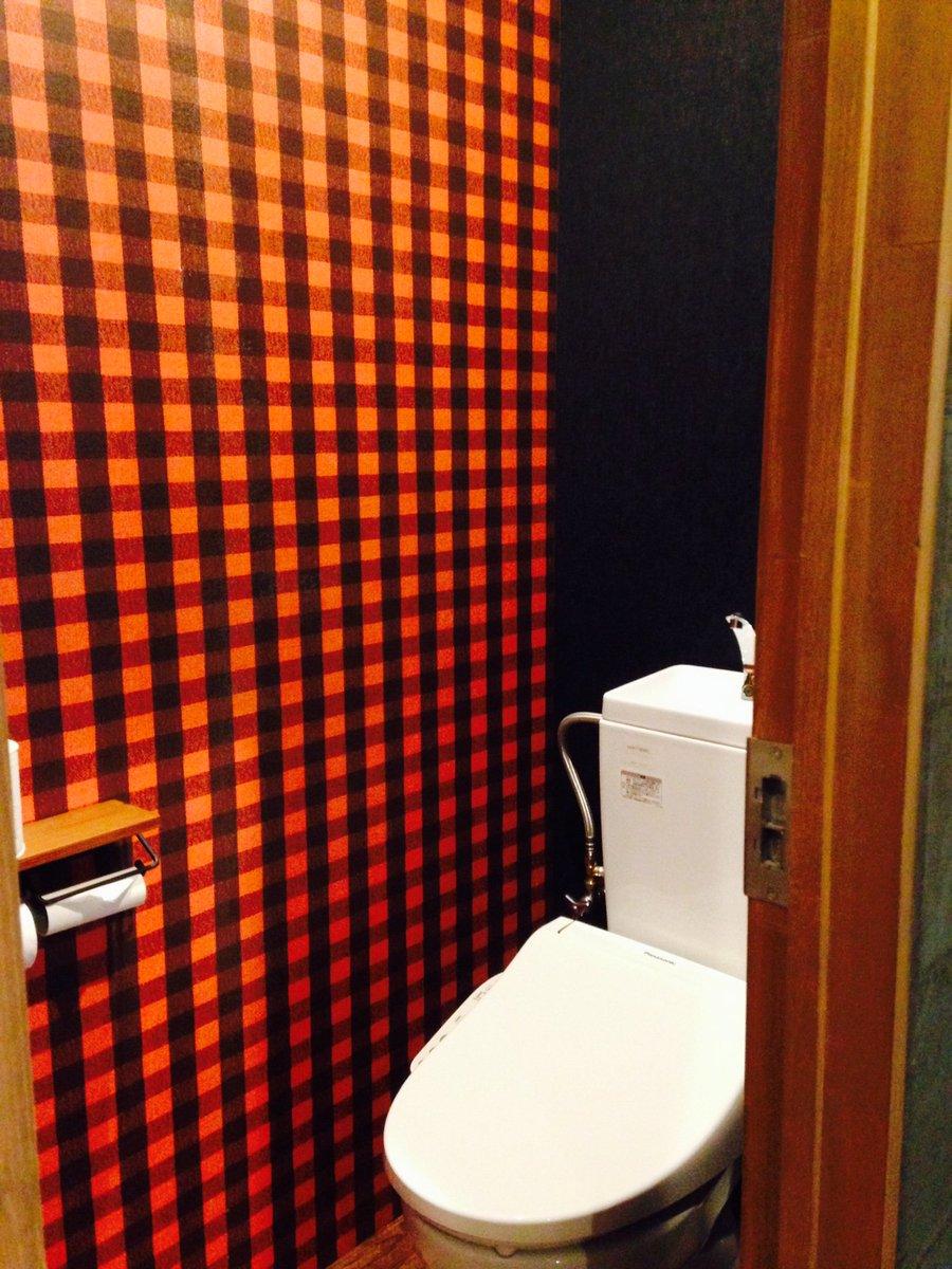 壁紙屋本舗lab On Twitter 当店のトイレは で違って面白い メンズ