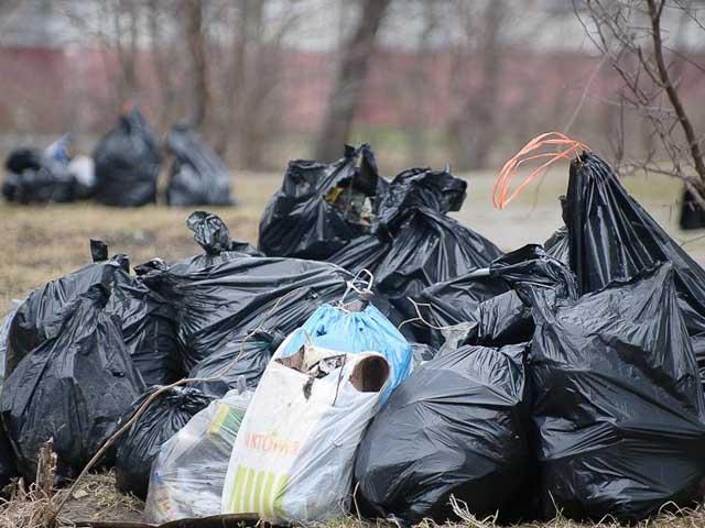 Более 700 кубометров мусора вывезли с улиц Курска в санитарные дни