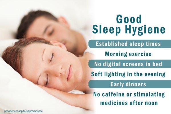 how to get good sleep hygiene