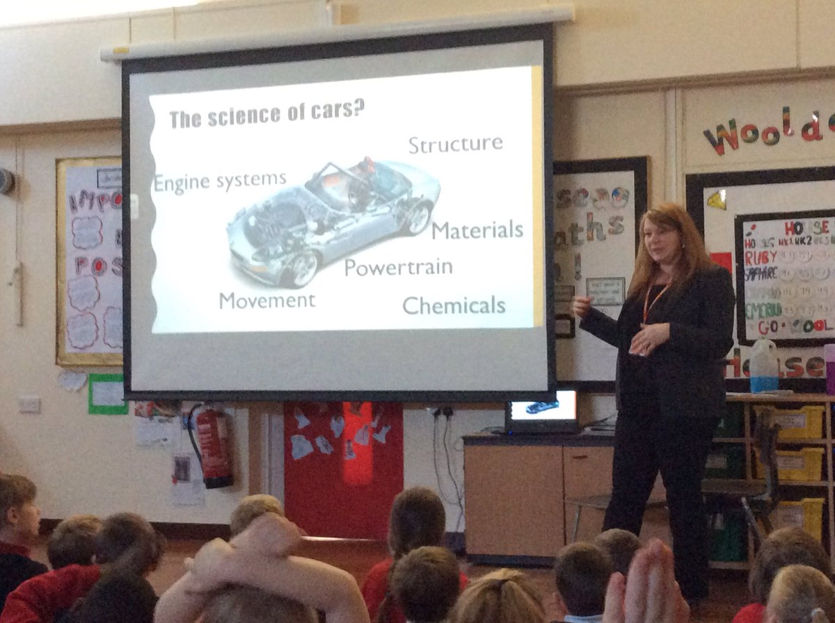 Wooldale Junior Sch On Twitter We Are Delighted To Have Drleighfleming Huddersfielduni Deliver A Lecture The Science Of Cars Our Year 3 4
