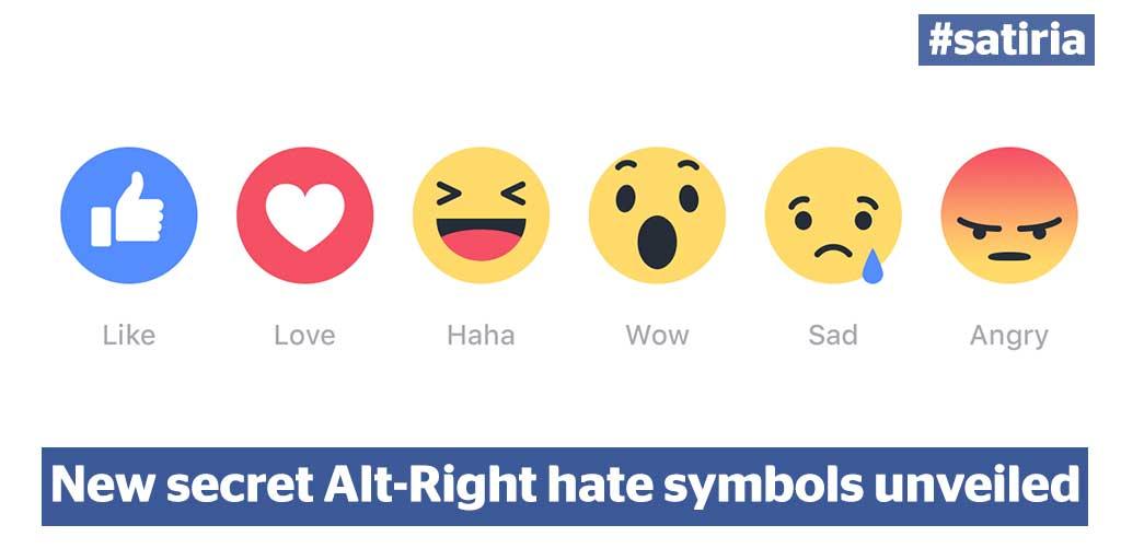 Satiria On Twitter New Secret Alt Right Hate Symbols Unveiled