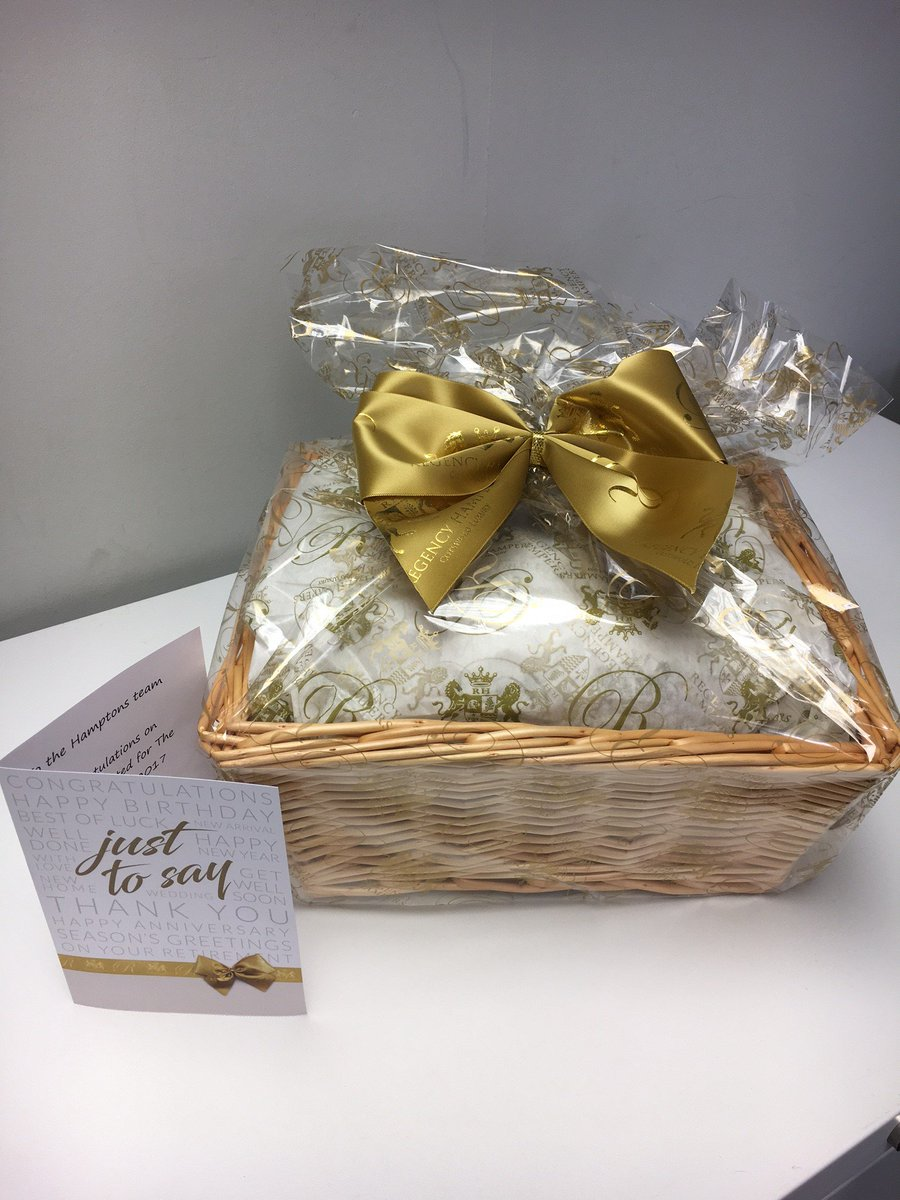 Thank you Sam for our beautiful @RegencyHampers gifts, we can&#39;t wait to tuck in to our goodies! #ESTAS #celebrating<br>http://pic.twitter.com/RyqXjBAAtb