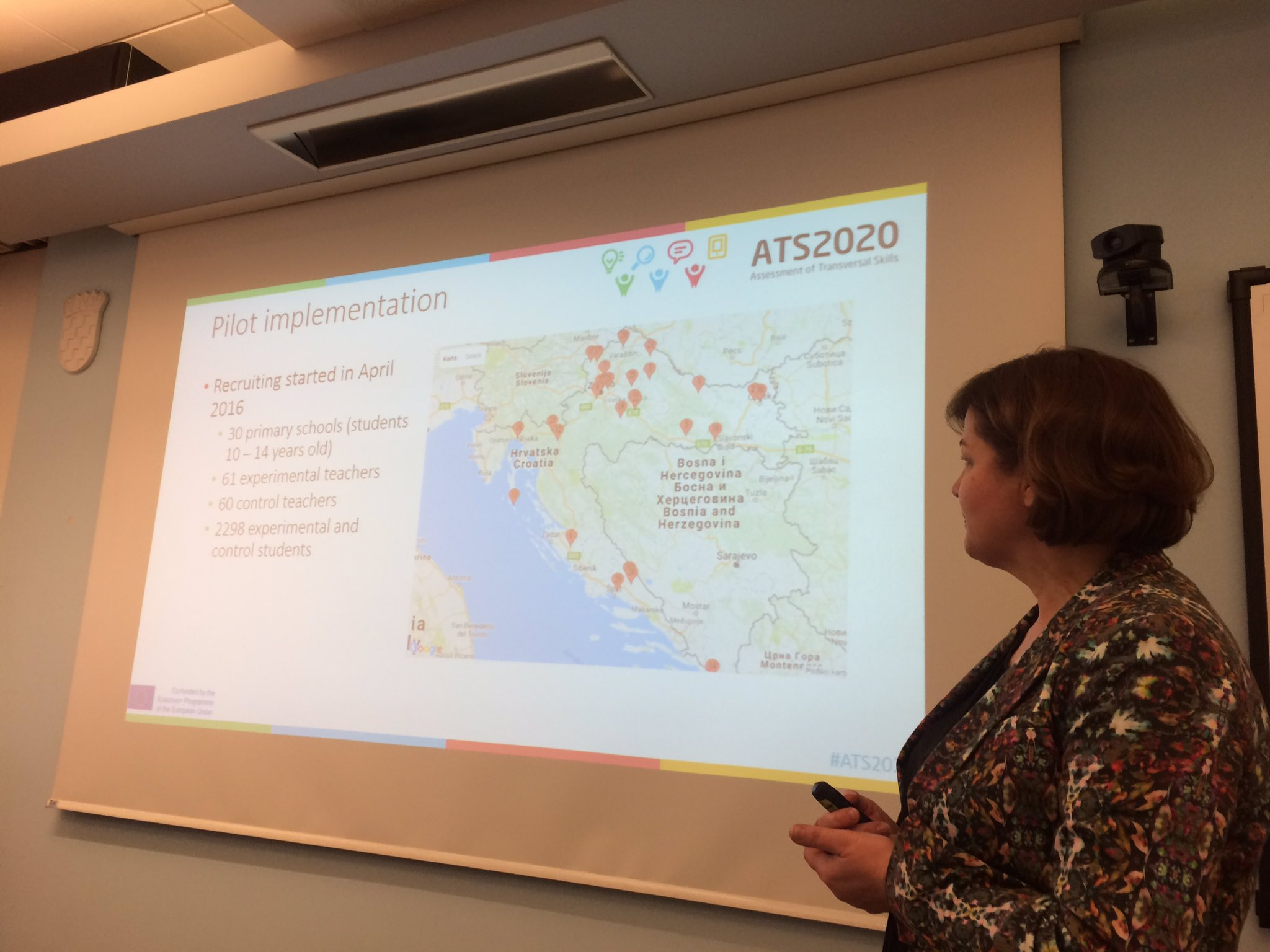 Jasna Tingle from @CARNetHR giving an insight into the #ats2020 pilot implementation in Croatia 🇭🇷 https://t.co/tAE9uqHslN