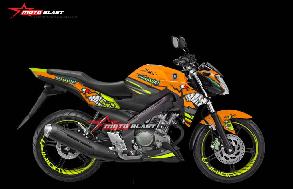 """Blog Motoblast On Twitter: """"Modifikasi Striping Yamaha New"""