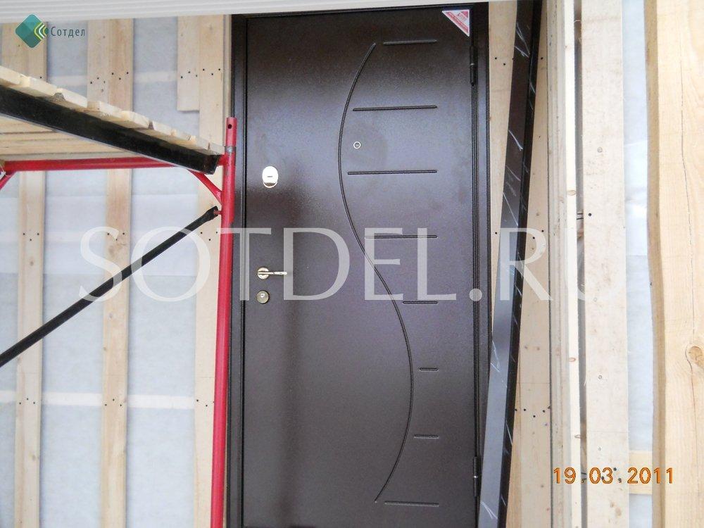 заказ металлической двери в чеховском районе