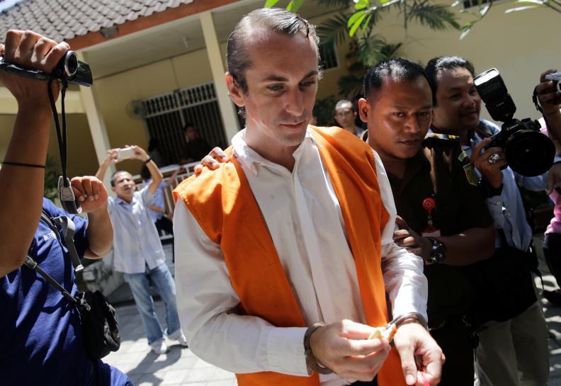 British, Australian nationals jailed in Bali for murder of policeman