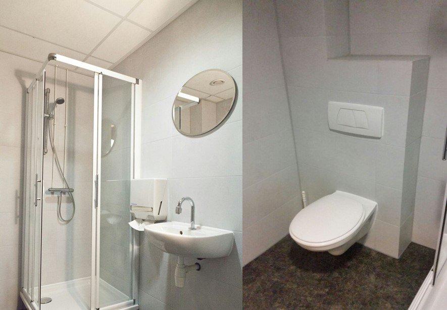 primeur complete badkamer renovatie in n dag s ochtends nog een oude badkamer en s avonds al een nieuwe