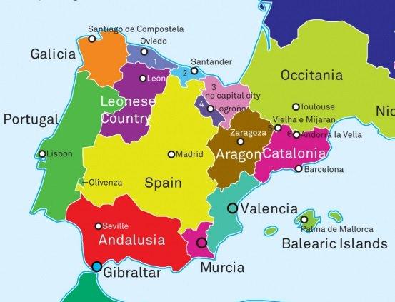 """Strambotic on Twitter: """"Así quedaría el mapa de Europa si"""