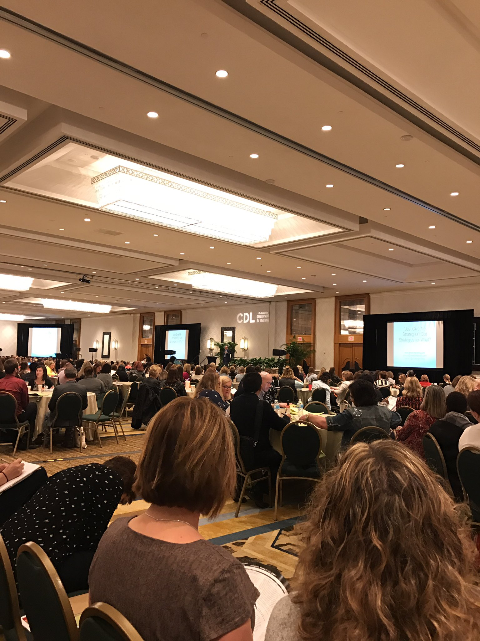 Opening session at #PlainTalkNOLA. Listening to @drrobertbrooks talk about strategies for success. #literacy #PDonSB https://t.co/XezC3Fl0Ab