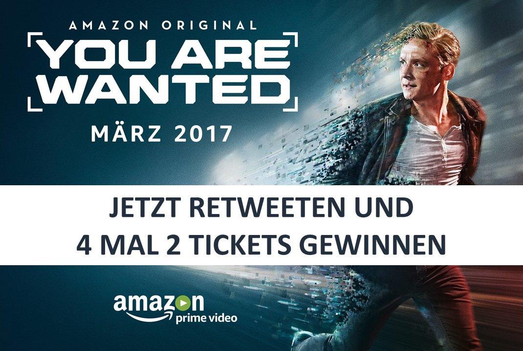 #YouAreWanted startet! Jetzt retweeten und Tickets für Premiere (Mittwoch in Berlin) gewinnen! Teilnahmebedingungen: https://t.co/w6XSwvIYhL https://t.co/3okghN5tFI