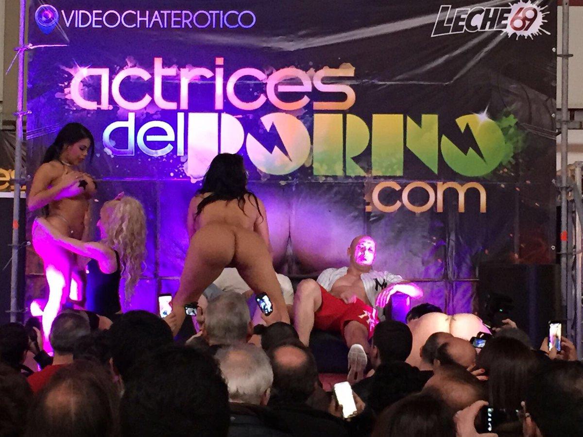 "Actrices Salón Porno 2017 kevin white on twitter: ""momentos del salón erotico oporto"