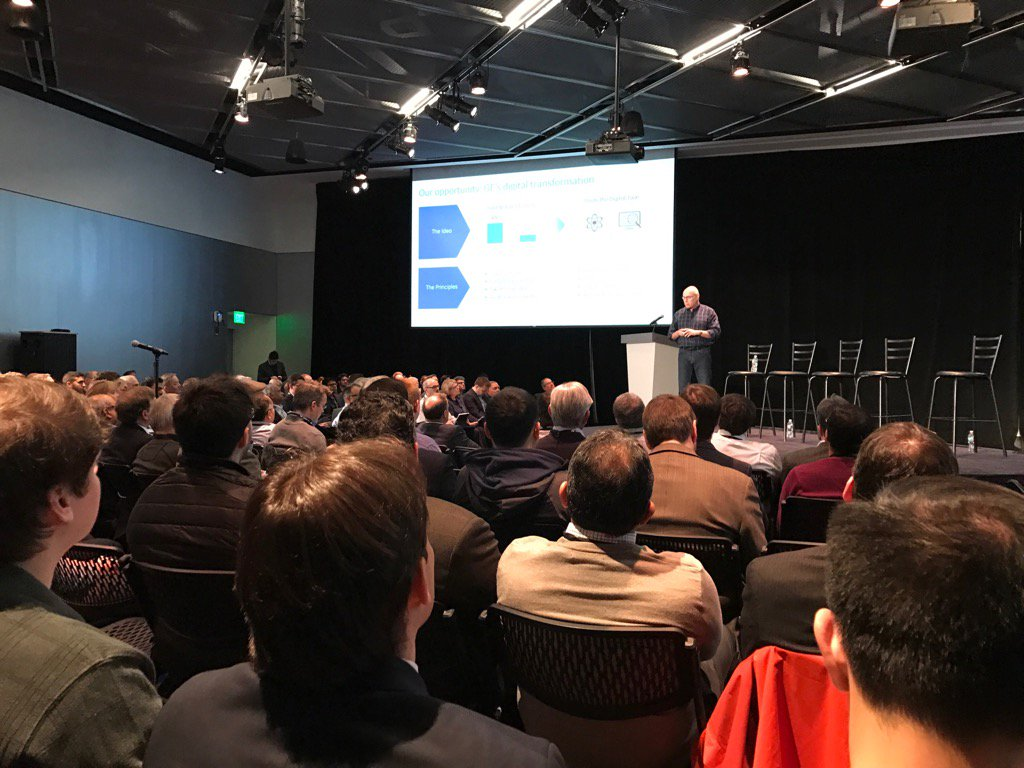 Harel Kodesh, CTO GE Digital, speaks on industrial internet & IOT #connectedthings2017 @Mitefcmb https://t.co/IkAH4x8QCT
