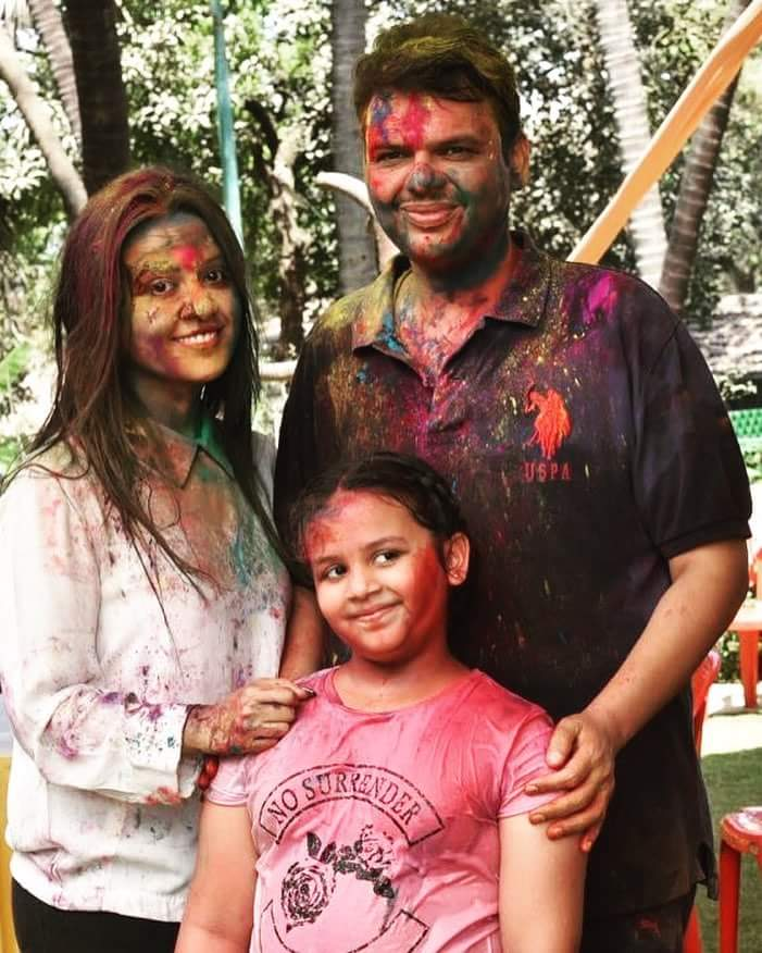 Celebrities Celebrating Holi : Holi Party
