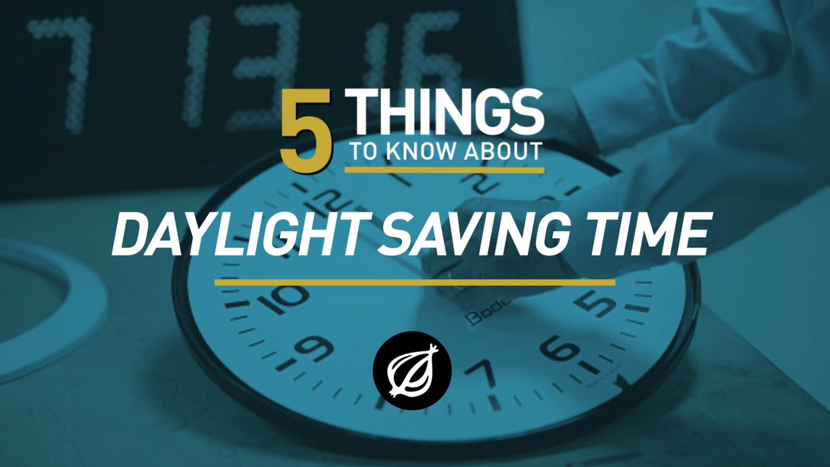 """The Onion on Twitter: """"The purpose of Daylight Saving Time ..."""