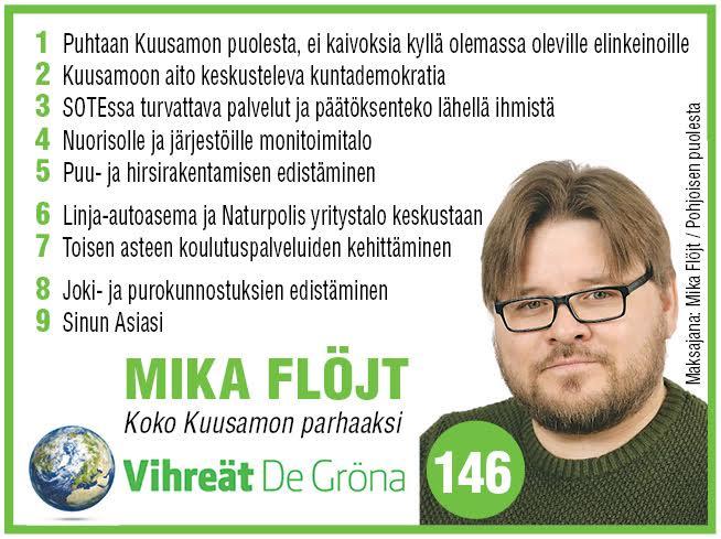 #Kuusamo #vaalit2017 #politiikka #Vihreät<br>http://pic.twitter.com/fVRI56tdVS