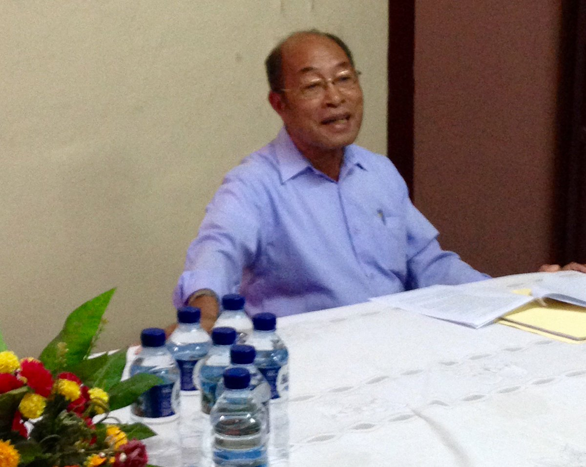 OIPAS Director Agustinho Soares announces results of national election observation. #USAIDTimorLeste supports OIPAS pic.twitter.com/0BiUUrDEut