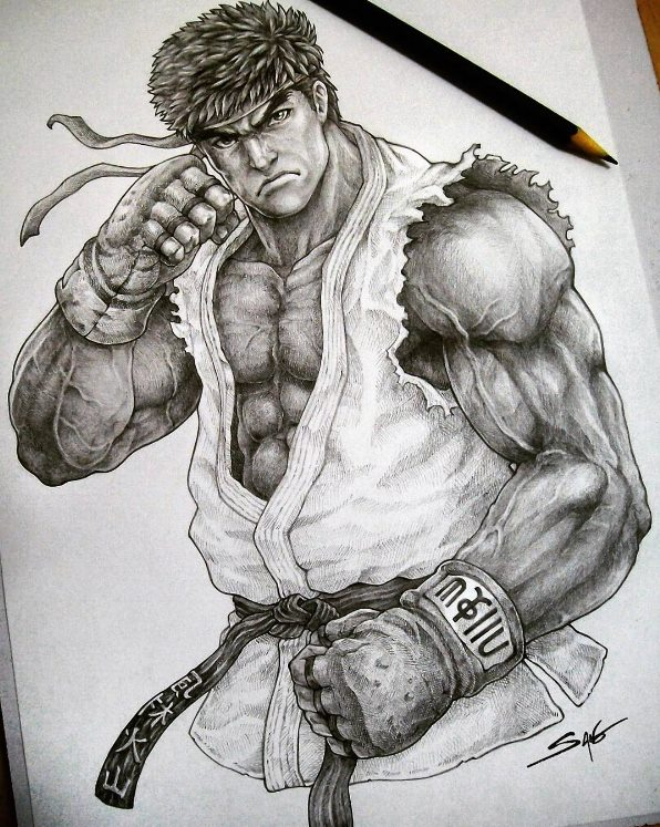 Street Fighter On Twitter Incredible Ryu Art By Sano Br Https
