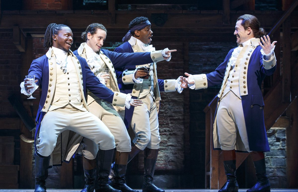 HAMILTON at ASU Gammage January 30-February 25, 2018 #Gammage1718 https://t.co/DWFdVJ94Vn