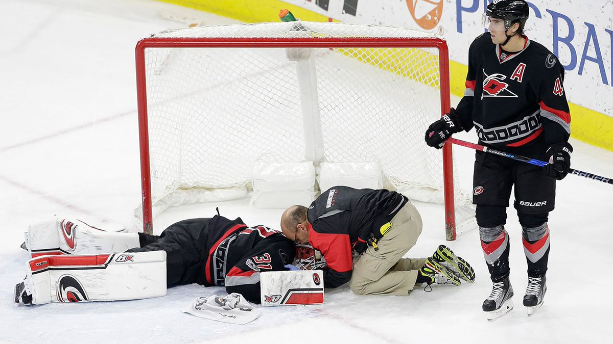 UPDATE: Hurricanes say Eddie Lack has 'full feeling in his extremities...