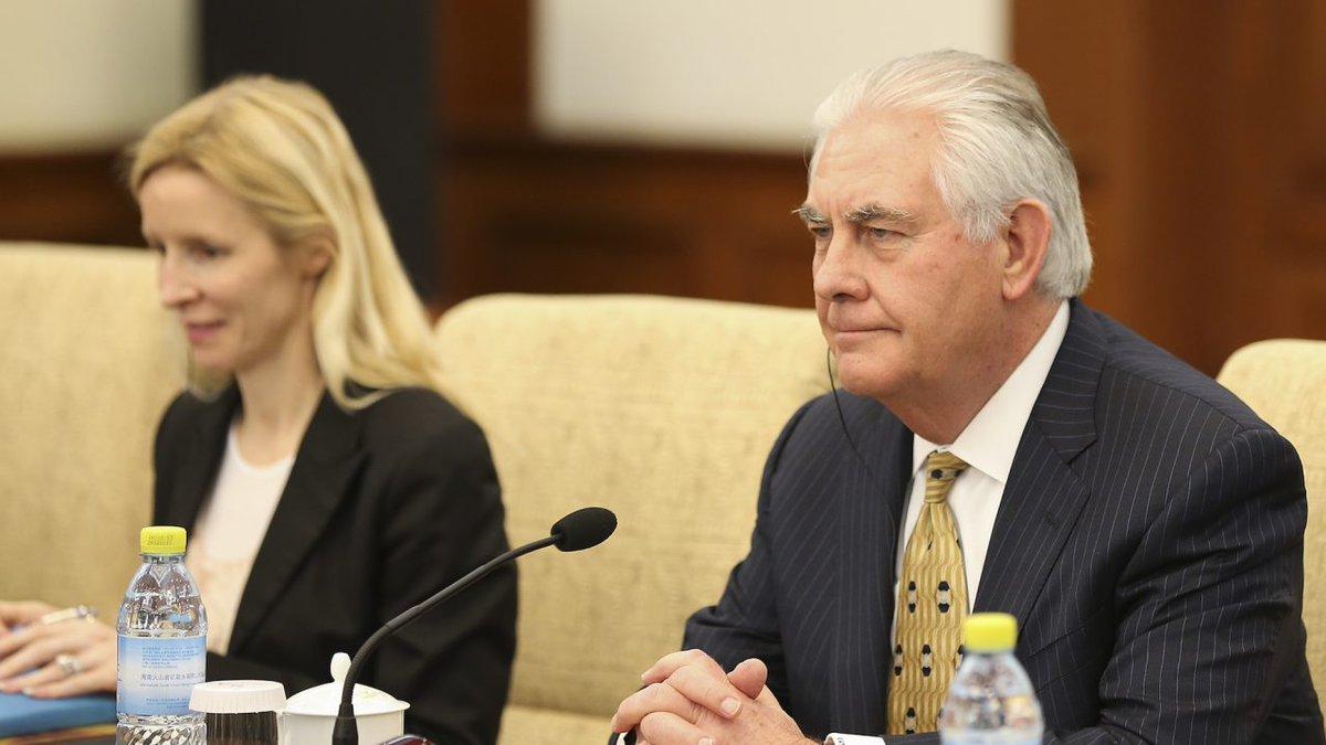 Rex #Tillerson assistera à la réunion de l&#39;#OTAN vendredi 31 mars<br>http://pic.twitter.com/jJNCr7vzju