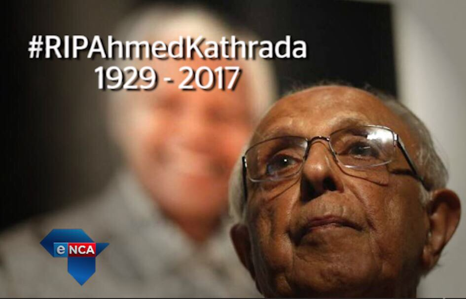 BREAKING NEWS: Ahmed #Kathrada has passed away >> https://t.co/C...