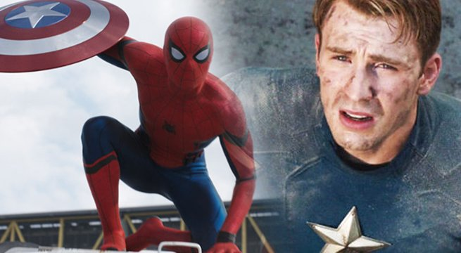 CAPTAIN AMERICA Cameos In New SPIDER-MAN: HOMECOMING Trailer https://t...