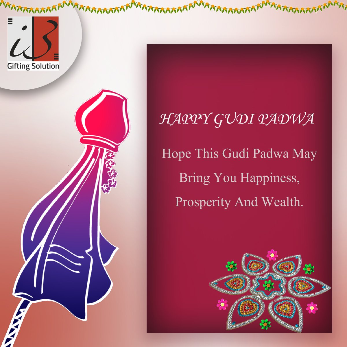 Happy #GudiPadwa Hope this Gudi Padwa May Bring You #Happiness, #Prosperity And #Wealth. #GudiPadwa2017 #HappyNewYear2017 #HappyNewYear<br>http://pic.twitter.com/L2SPH8F7YW