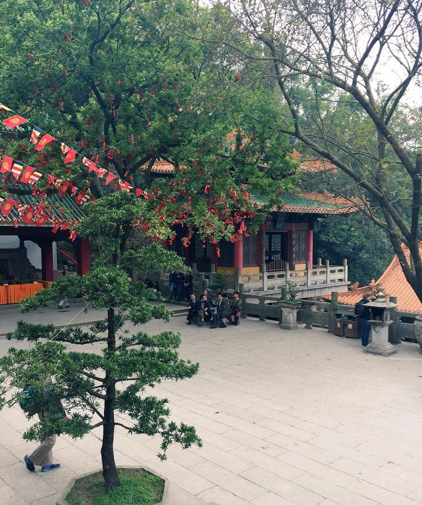 Yutai Temple, Xinhui. #cahht17 https://t.co/VZo9qQMQnm