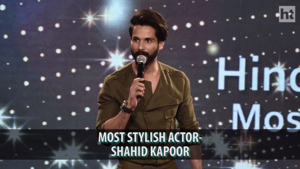 Another precious award for @shahidkapoor . #Congratulations #WellDeser...
