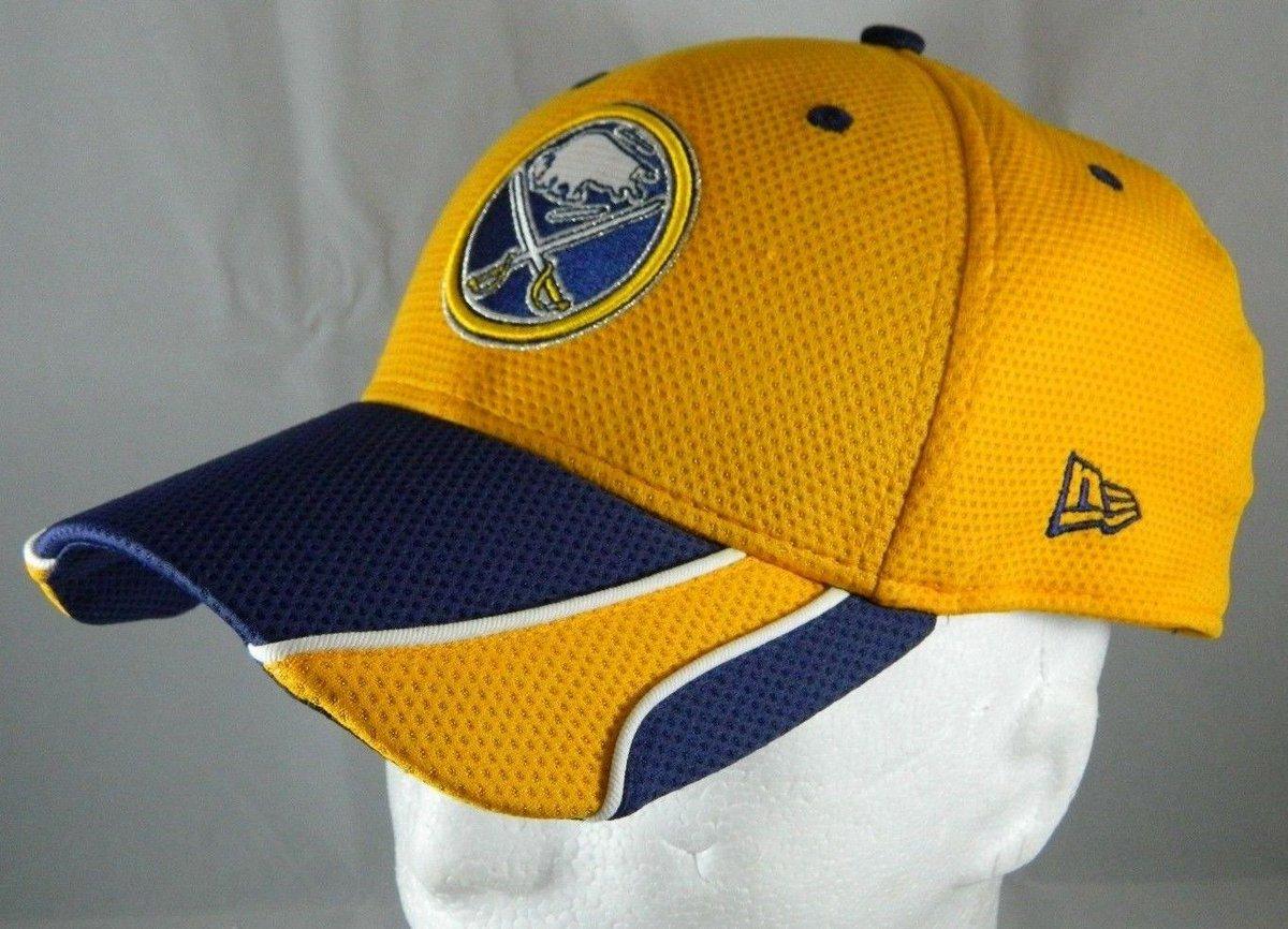 finest selection 35669 3da4e  Sales New Era 39Thirty  NHL BUFFALO SABRES Hockey Stretch-Fit L-XL Blue Gold  Cap Hat http   dlvr.it NkzBXm  TFWpic.twitter.com TbnMF2YwEi
