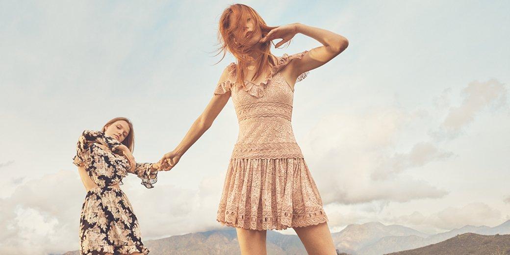 Savourez la mode en éthéré riche en détails de fanfreluches et dentelle florale : célébrez toutes les fêtes du printemps  #HM #HMFashion<br>http://pic.twitter.com/8gY7c6sovX