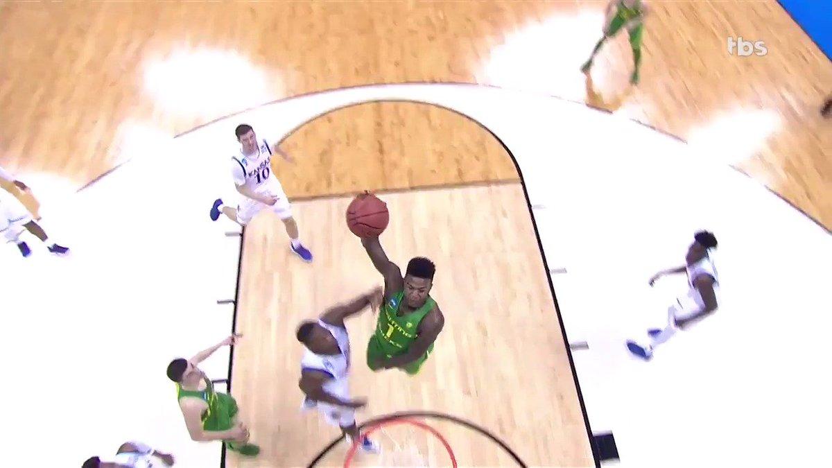 Jordan Bell: 11 points, 13 rebounds, 8 blocks, 4 assists, 1 incredible...