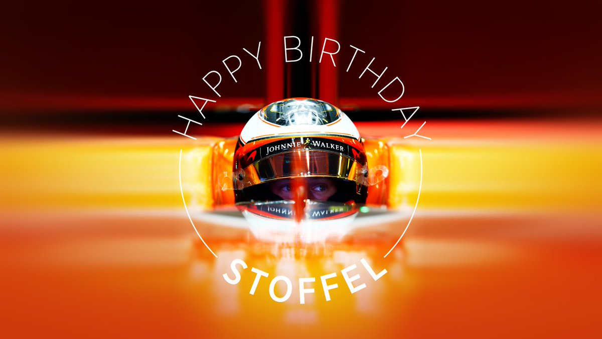 Happy Birthday to our very own Stoffel Vandoorne who turns 25 today. H...