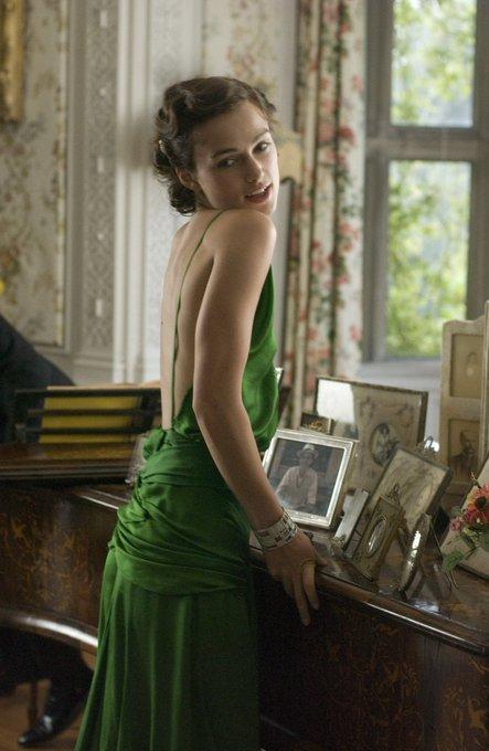 **Happy Birthday Keira Knightley** [as Cecilia Tallis in Joe Wright\s Atonement]