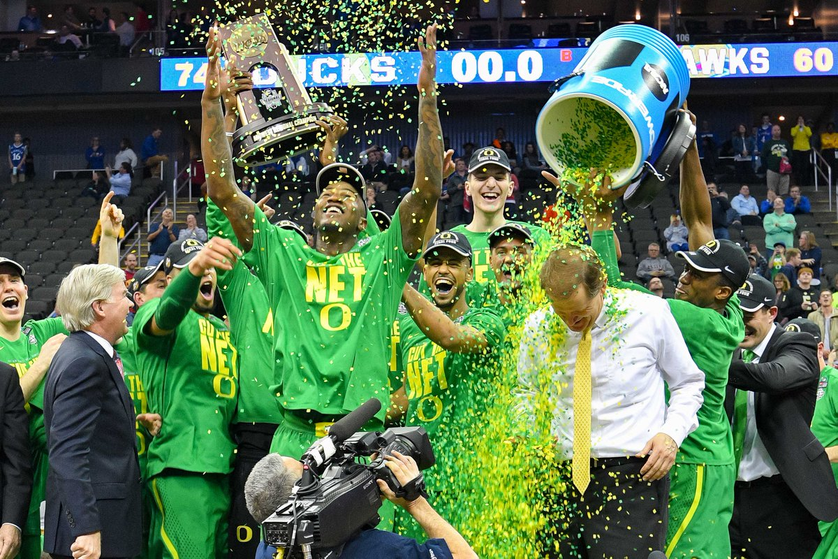 Midwest Region champs! #FinalFour #GoDucks https://t.co/nyNQLZioe7
