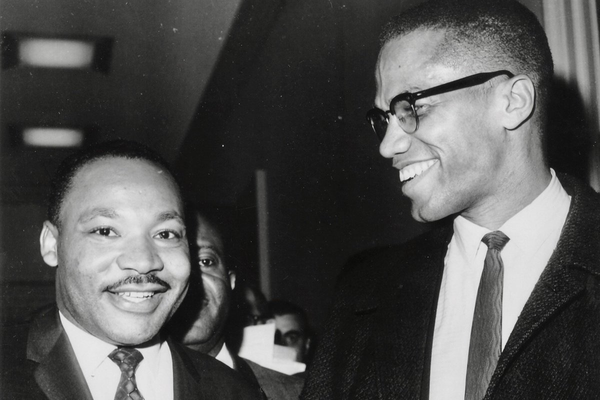 malcolm x and martin luther king jr relationship questions
