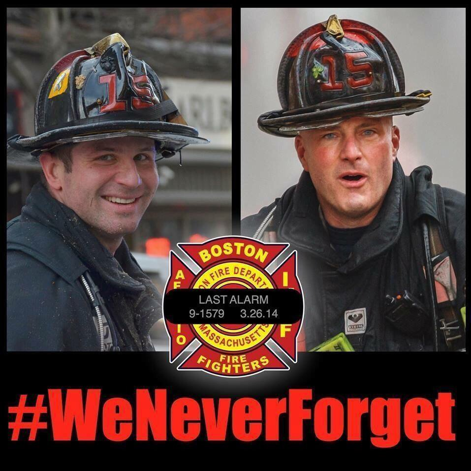 Pause and Remember Lt. Ed Walsh, E-33 & FF Mike Kennedy, L-15 killed in the Line of Duty 3 yrs ago https://t.co/AvnEcrlhPi